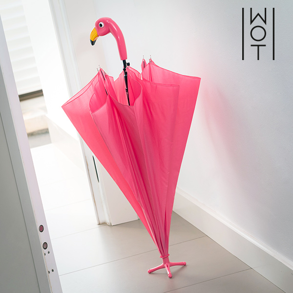 Wagon Trend Flamingo Standing Umbrella