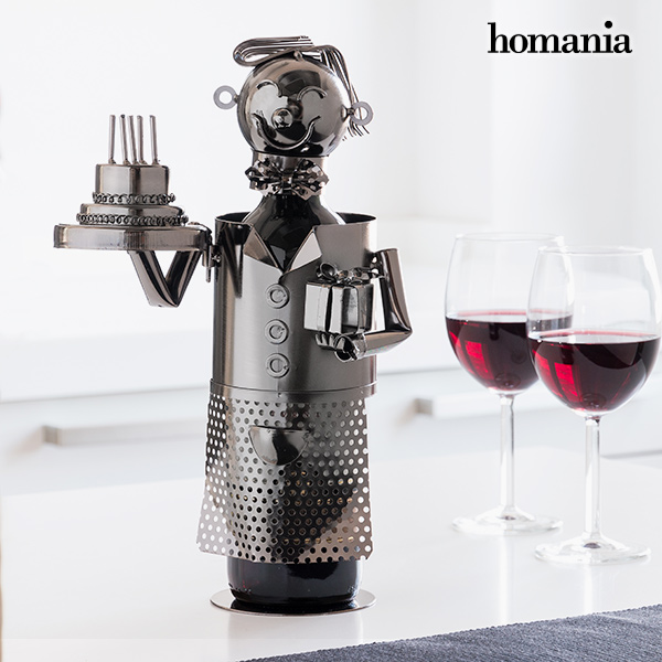 Homania Happy Birthday Metallic Bottle Holder