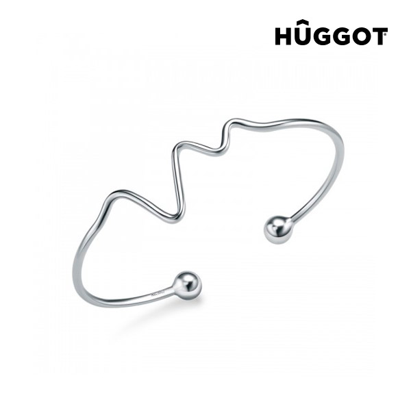 Hûggot Life 925 Sterling Silver Adjustable Bracelet Created with Swarovski®Crystals