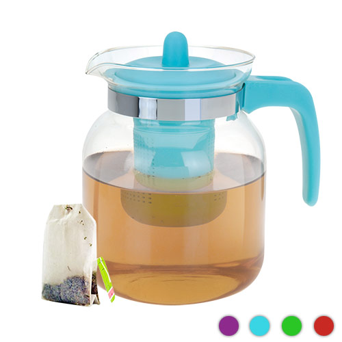 Coloured Teapot with Tea Infuser 1.5 L